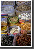 Various Kinds of Popcorn and Roasted Nuts