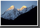 Sunrise on Nanda Devi